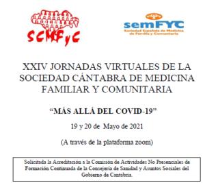 XXIV JORNADAS VIRTUALES DE LA SCMFyC